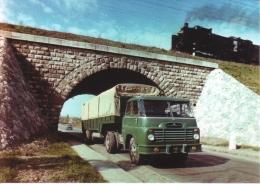 Csepel 705 Articulated General Haulage Truck  - Camion - Hungary/Hongrie - CPM - Vrachtwagens En LGV