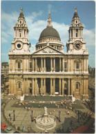 GB - Regno Unito - GREAT BRITAIN - UK - 1988 - 18p - St. Paul's Cathedral - Viaggiata Da London Per Forlì, Italy - St. Paul's Cathedral