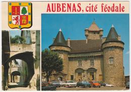 AUBENAS-EN-VIVARAIS FRANCE. MULTIVIEW. POSTED 1979 - Aubenas