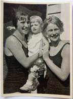 VIGNETTE JEUX OLYMPIQUES J.O BERLIN OLYMPIA 1936 PET CREMER DUSSELDORF BILD 91 NATATION - Tarjetas