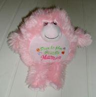 Personnage Rose En Peluche à Suspendre Ou à Poser Pour La Plus Gentille Maman - Cuddly Toys