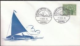 Germany Sankt Peter - Ording 1963, European Sand Sailing Championships - Segeln