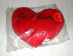 Coeur Rouge Rembourré à Suspendre Ou à Poser Marqué Je T'aime - Otros