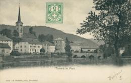 CH TRAVERS / Le Pont / - NE Neuchatel