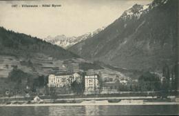 CH VILLENEUVE / Hôtel Byron / - VD Vaud