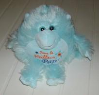 Personnage Bleu En Peluche à Suspendre Ou à Poser Pour Le Meilleur Papa - Cuddly Toys