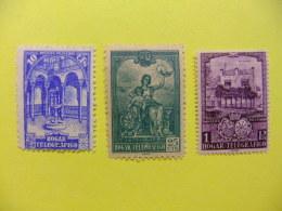 ESPAÑA SPAIN ESPAGNE 1937 HOGAR TELEGRAFICO (El Quinto) Edifil Nº 10 / 12 ** MNH Yvert Nº 26 / 28 **MNH - Charity