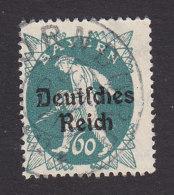 Bavaria, Scott #263, Used, Sower Overprinted, Issued 1920 - Bavaria