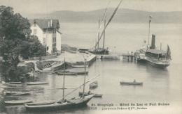 CH SAINT GINGOLPH / Hôtel Du Lac Et Port Suisse / - VS Valais