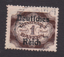 Bavaria, Scott #O64, Used, Official Overprinted, Issued 1920 - Bavaria
