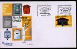 Andorra 2011 FDC Upaep.  Buzones Postales. Postal Mailboxes. - Emissioni Congiunte