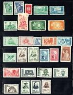 1952-5  Groupe De Timbres Neufs Et Oblitérés  Plusieurs Séries Complètes - Nuovi