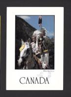 INDIENS DU QUÉBEC - ALBERTA CREE - PHOTOGRAPH JOHN DE VISSER - 17 X 12 Cm - 6¾ X 4¾ Po - PAR POSTCARD FACTORY - Indiens De L'Amerique Du Nord