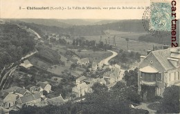 CHATEAUFORT VALLEE DE MERANTAIS VUE PRISE DU BELVEDERE 78 YVELINES - France