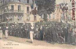CHATOU LA MARCHE DE L'ARMEE FETE MILITAIRE SOLDATS MILITAIRES 78 YVELINES - Chatou
