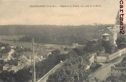 CHATEAUFORT EGLISE ET LA TRINITE 78 YVELINES - France