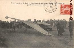 BUC AERODROME L'AEROPLANE DE M. ESNAULT-PELTERIE PENDANT SES ESSAIS AVIATION AVIATEUR 78 YVELINES - Buc