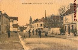 BONNIERES-SUR-SEINE RUE DE PARIS ANIMEE 78 YVELINES - Bonnieres Sur Seine