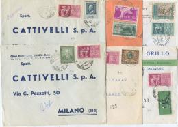 1959-1971 ESPRESSI + COMMEMORATIVI SINGOLI 6 DIFFERENTI  (6773) - 6. 1946-.. Repubblica