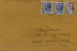 DONNE 0,02 VARIETÀ AMPIA STRISCIA VERTICALE BIANCA + NORMALE BUSTA 17.11.05 FERMO POSTA SEGNATASSE L. 500 (A679) - 6. 1946-.. Repubblica