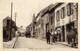 95 ENNERY La Forge Maréchal-Ferrant RARE Très Animée - Ennery