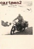 PHOTOGRAPHIE ORIGINALE : MOTO MOTARD - Cars