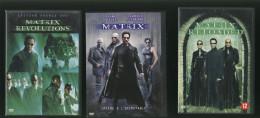 Lot Dvd : Matrix - Matrix Revolutions - Matrix Reloaded - ( 5 Dvds ) Trilogie - Clásicos