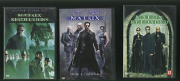 Lot Dvd : Matrix - Matrix Revolutions - Matrix Reloaded - ( 5 Dvds ) Trilogie - Klassiekers