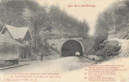 Au Tunnel De Bussang (Vosges) - Côté De Bussang  - Col Frontière Avant La Guerre - Edition Ad. Weick - Col De Bussang