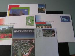 == UNO Wien 4 EUR Umschläge , Weit Unter Postpreis - Centre International De Vienne