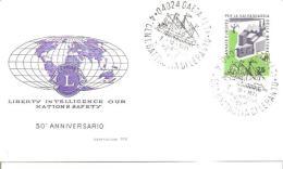 81499) Fdc - Con Annullo Speciale -gaeta-centennario Battaglia Di Lepanto-7-10-1971 - Otros