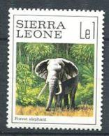 158 SIERRA LEONE 1980 - Elephant (Yvert 459) Neuf ** (MNH) Sans Trace De Charniere - Sierra Leone (1961-...)