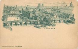 75 - PARIS -4° ARRONDISSEMENT - ILE DE LA CITE - CPA PRECURSEUR - PUB ILLUSTREE - LA BENEDICTINE . - Arrondissement: 04