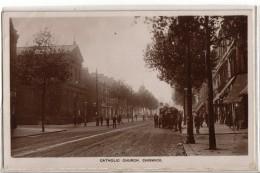 Catholic Church, Chiswick.   1909. (D447).   RPPC. - London