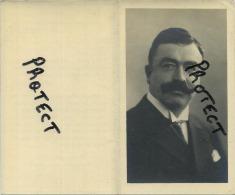 Pont-De-Loup :  Monsieur Auguste Scohy : Bourgemestre - Ingénieur Des Charbonage  Fonderies De Gilly ( 2 Scan ) - Aiseau-Presles
