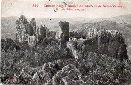 Causse Noir - Ruines Du Chateau_ De Saint Véran  (86393) - Non Classés