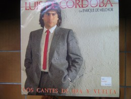 Luis De Cordoba Con Enrique De Melchor - Los Cantes De Ir Y Vuelta - Vinyl Records