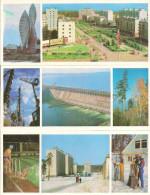 POSTCARD USSR ANGARA RIVER BRATSK & OTHERS Mint - Russie