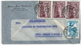 "Airmail Brief  ""Casanova, Ingeniero Textil, Lima"" - Rüti            1938 - Peru"