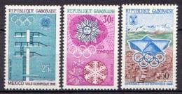 Gabon MNH Olympic Games Set - Summer 1968: Mexico City