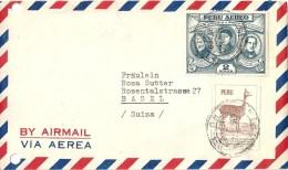 Airmail Brief  Trujillo - Basel             1951 - Peru