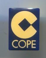 COPE - Radio, Broadcasting, SPAIN, Vintage Pin  Badge - Médias