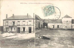 60 - BETZ - Macquelines - La Ferme De Bois-Milon Avec Le Colombier - Frankreich