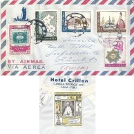 Airmail Brief  Lima - Zürich             1958 - Perù