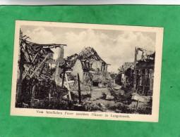 Vom Feindlichen Feuer Zerstörte Häuser In Langemarck (Langemark-Poelkapelle Flandre Occidentale) - Langemark-Poelkapelle