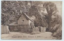 Reigate, Green Lane, Entrance To Park - Surrey