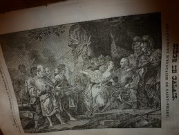 1833 LM :Siège De CALAIS Et Eustache De Saint-Pierre;Le SANGLIER; Indigotier ;PHARAMOND (grand Homme);Chimie Culinaire - Vieux Papiers