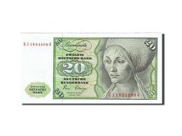 République Fédérale Allemande, 20 Deutsche Mark, 1970-1980, KM:32a, 1970-0... - 20 Deutsche Mark
