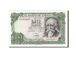Espagne, 1000 Pesetas, 1974, KM:154, 1971-09-17, SUP - [ 3] 1936-1975 : Régence De Franco