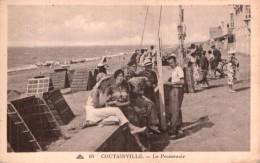 50 COUTAINVILLE LE PROMENOIR PAS CIRCULEE - Autres Communes